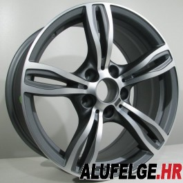 4Racing B001 20x9,5 antracit polished