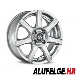 MSW 77 full silver 14x5 4x100 ET35 RS x8