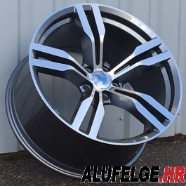 R Line BBK5327 grey polished 19x9,5 5x120 ET38 72,6