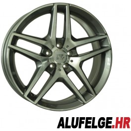 WSP Italy Enea 19x8,5 5x112 ET38 66,6 anthracite polished