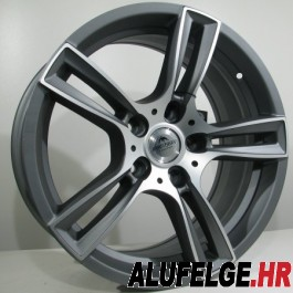 4Racing Fordev antracite polished 17x8 5/100 ET43 73,1 x8