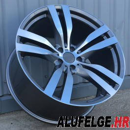 R Line BHE5175 anthracite polished 22x10 5x120 ET40 74,1