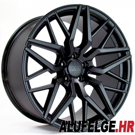 Haxer Wheels HX035 19x9,5 black half matt