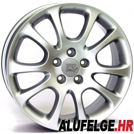 WSP Italy Iseo 17x6,5 5x114,3 ET50 64,1 silver
