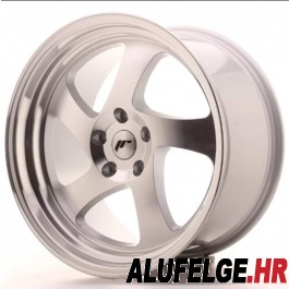 Japan Racing JR15 18x9,5 5x120 ET40 74,1 silver machined x2