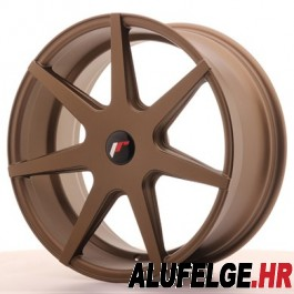 Japan Racing JR20 20x11 Blank matt bronze