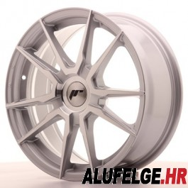 Japan Racing JR21 17x9 Blank silver machined
