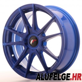 Japan Racing JR21 19x11 blank blue