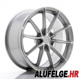 Japan Racing JR37 20x10,5 blank silver machined face