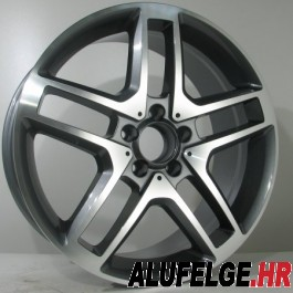 R Line M017 antracite polished 8,5x18 5/112 ET48 66,6