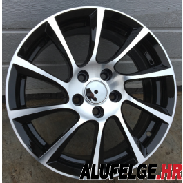 R Line OOPL501 black polished 17x7 5x120