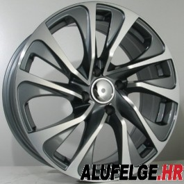 4Racing P04 17x7 antracite polished