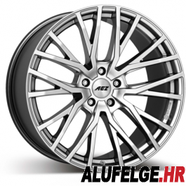 AEZ Panama high gloss 20x8 silver