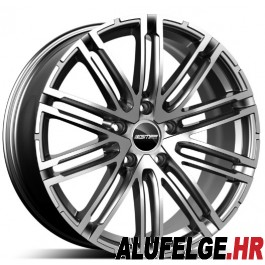 GMP Targa Anthracite Diamond 20x11.0 5x130