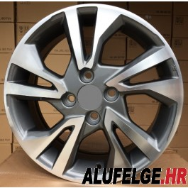 R Line HOTL0397NW anthracite polished 16x6 4x100 ET53 56,1