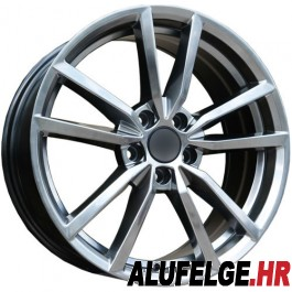 Carbonado Voltage 17x7,5 5x112 ET45 66,45 diamond hyper black