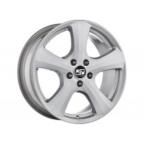 MSW 19 16x6,5 full silver
