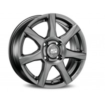 MSW 77 18x8 matt dark grey