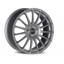OZ Superturismo LM 18x8 matt race silver