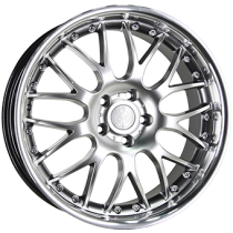Inter Action Mesh II inox 17x7,5 hyper silver stainless steel lip