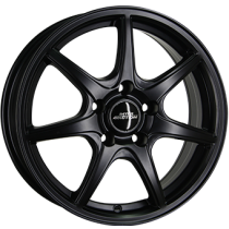 Inter Action black ice 17x7 matt black