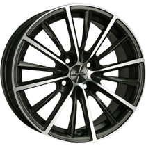 Inter Action Velocity 17x7 matt anthracite polished front
