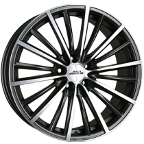 Inter Action Velocity 5 holes 17x7 matt anthracite polished front