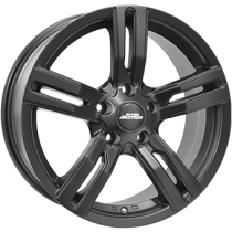 Inter Action kargin 17x7,5 matt black fully painted for vans