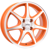 Inter Action ice 15x6 matt orange polished front