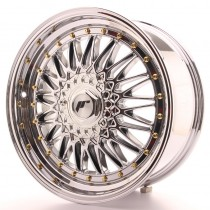 Japan Racing JR9 18x8 blank chrome