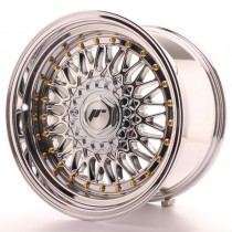 Japan Racing JR9 17x10 blank chrome