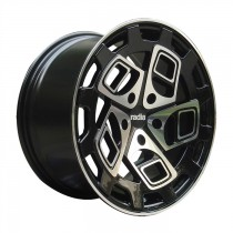 RADI8 R8CM9 19x8,5 Black Polished
