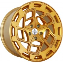 RADI8 R8CM9 19x10 Brushed Gold