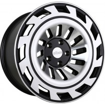RADI8 R8T12 20x10 Black Polished