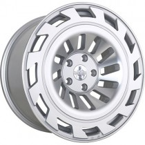 RADI8 R8T12 19x8,5 Silver Polished