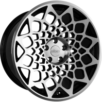 RADI8 R8B12 18x8,5 Black Polished