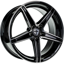 Tomason TN20 hyperblack polished 18x8