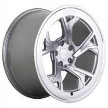 RADI8 R8C5 19x10 Silver Polished