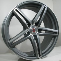 4Racing 4R123 9,5x19 antracite polished