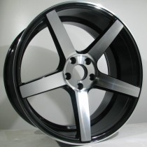 4Racing 4R134 20x8,5 black polished