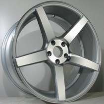 4Racing 4R134 20x8,5 silver polished