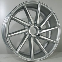 4Racing 4R152 19x10 silver polished