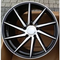 4Racing 4R152 19x9 black polished