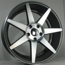 4Racing 4R154 18x8 black polished