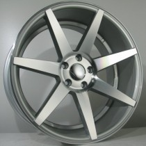 4Racing 4R154 19x8,5 silver polished