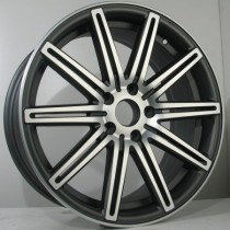 4Racing 4R155 19x8,5 antracite polished