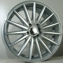 4Racing 4R161 silver polished 19x8,5 5/112 ET42 66,45