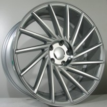 4Racing 4R162 18x8 silver polished