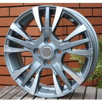 R Line 5013 grey polished 15x6 4x99 ET38 73,1