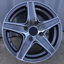 Racing Line RL5084 grey polished 15x6,5 5x114,3 ET40 73,1